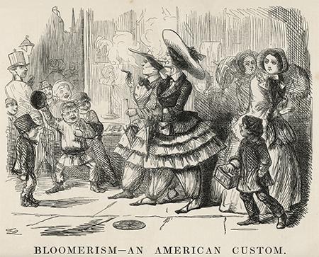 1850年当時のブルマー