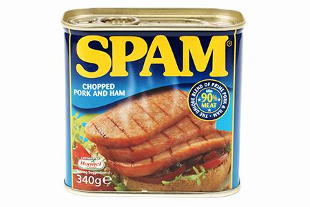 缶詰の「SPAM」
